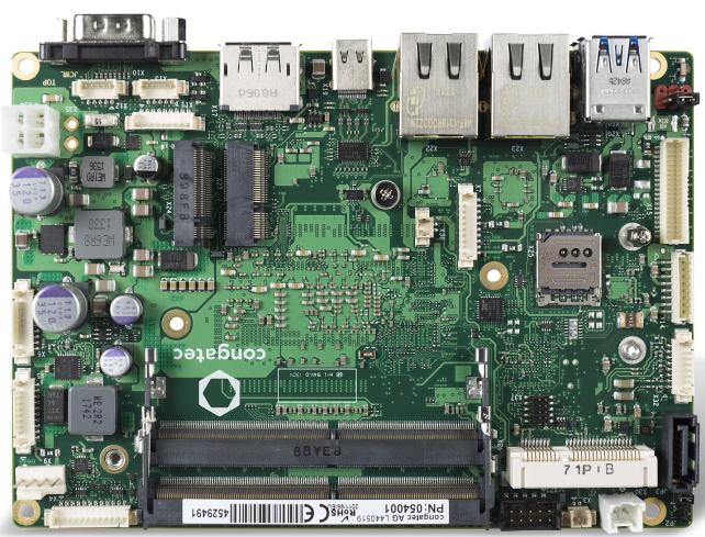 conga-JC370 3.5英寸SBC实现工业领域的无损计算