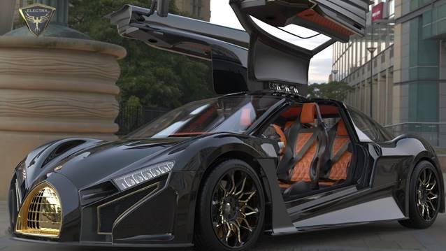 性能与美的化身,Electra首款电动汽车即将问市