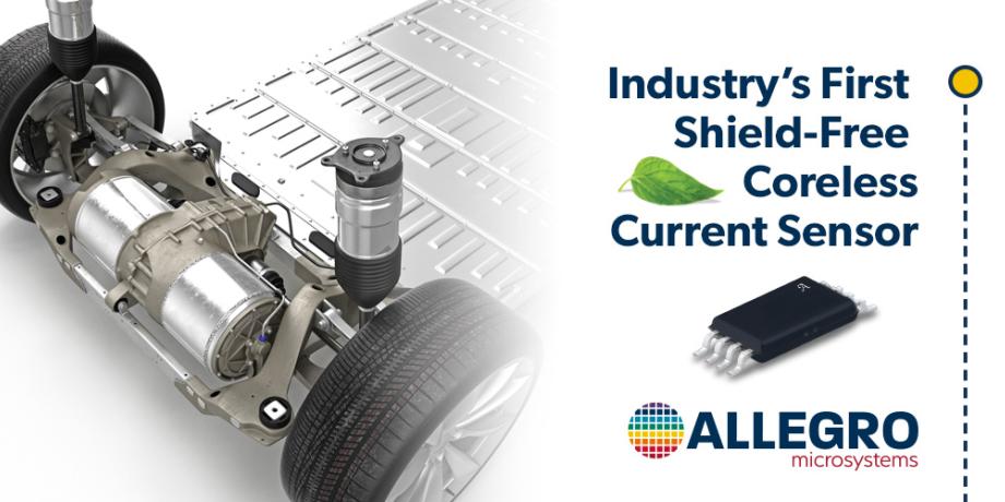 Allegro独立式无磁芯电流传感器创建更节能、更经济的电动车