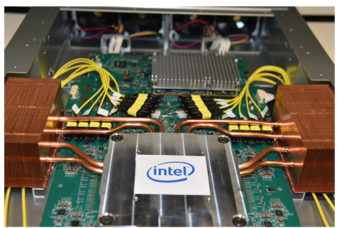 硅光技术的重大进展,Intel一体封装光学以太网交换机问市