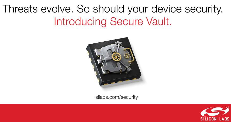 Silicon Labs新型Secure Vault技术为知识产权建立新屏障