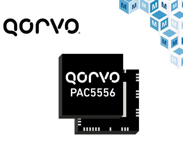 實現智能化電源控制,Qorvo PAC5556貿澤開售