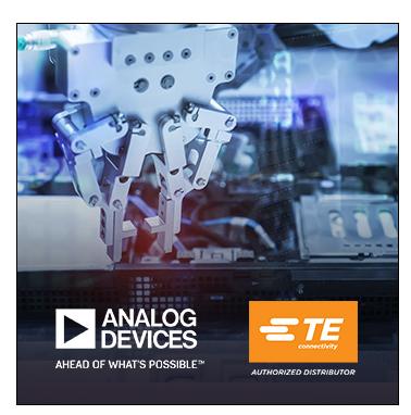 Analog Devices和TE 联手推出车间用工业通信解决方案