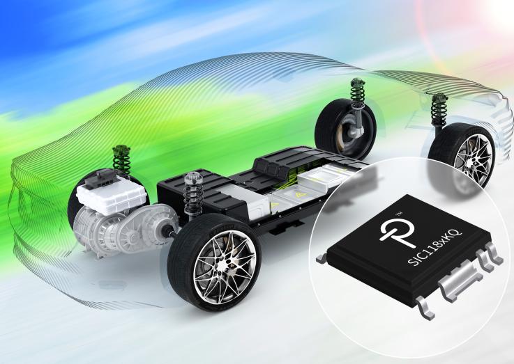 Power Integrations高效率单通道门极驱动器通过AEC-Q100汽车级认证