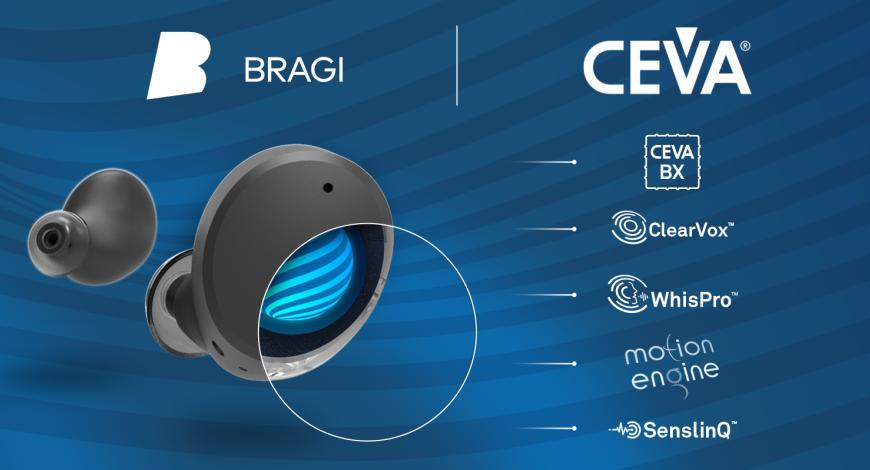 CEVA联手Bragi,开辟听觉设备新方向