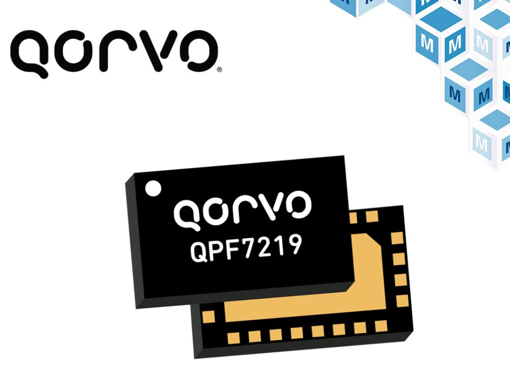 集成edgeBoost功能,Qorvo Wi-Fi集成前端贸泽开售