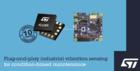 ST智能维护振动监测解决方案,推进工业4.0应用快速发展