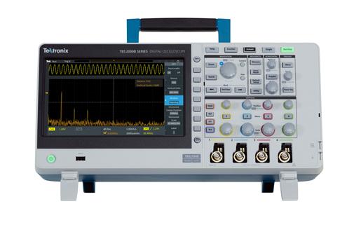 泰克全新TBS2000B系列数字存储示波器,控制功能更简易
