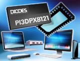 Diodes 推出业界首款规格为 4 信道DisplayPort 2.0 主动开关