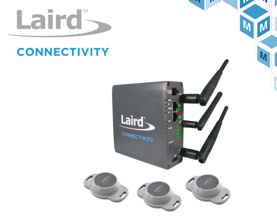 Laird Connectivity Sentrius入门套件贸泽开售