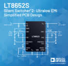 ADI同步降压Silent Switcher®转换器可实现超低EMI