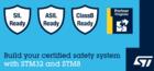 STM32和STM8认证软件包,助力设备达到功能安全标准