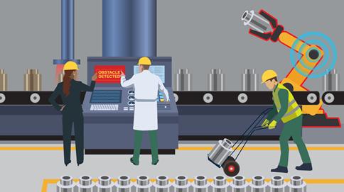 边缘智能化为自主工厂提供动力