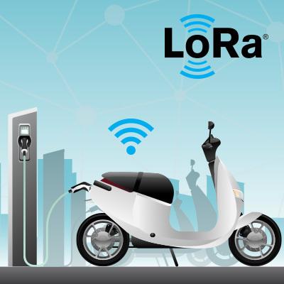 基于LoRa®智能充电设备可实现更便捷电瓶车充电方案