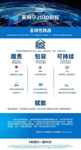 "Intel定义""全球性挑战"",开启共享企业社会责任新时代"