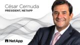 前Microsoft 资深高管Cesar Cernuda就任 NetApp 总裁
