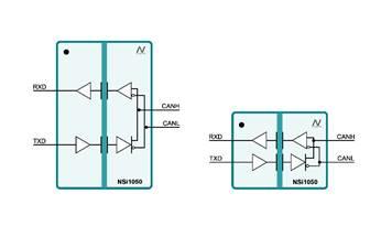 纳芯微全新隔离CAN收发器大幅提高工业系统集成度