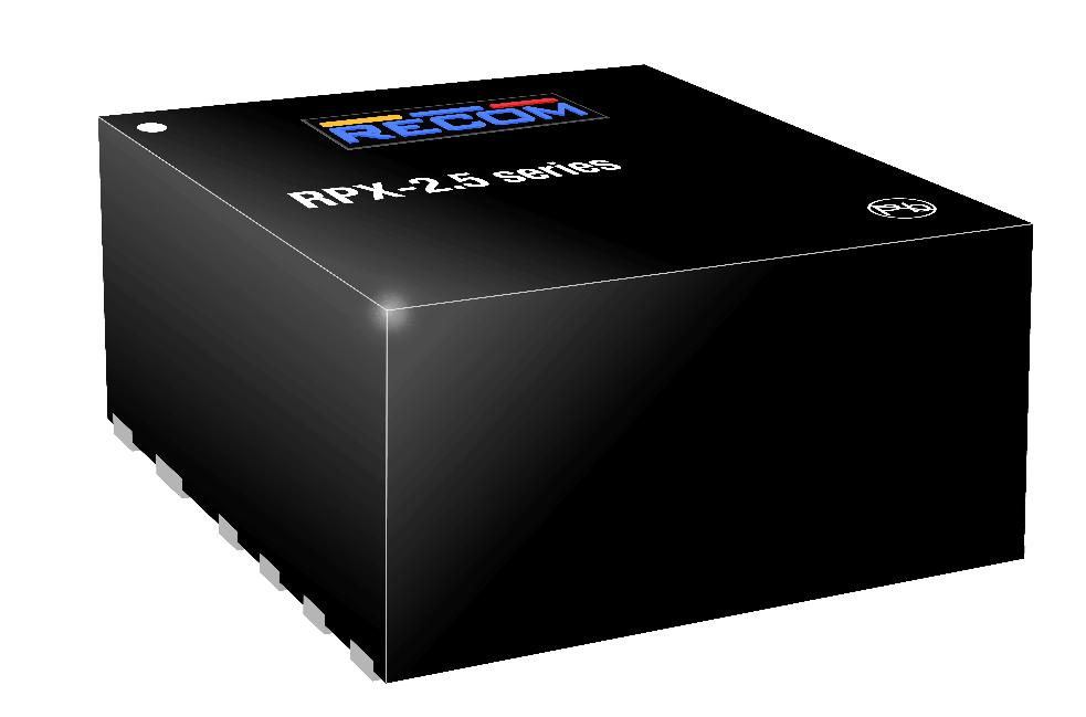 儒卓力新品:Recom高功率密度紧凑型电源模块