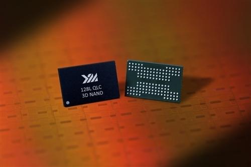 长江存储128层QLC 3D闪存研制成功