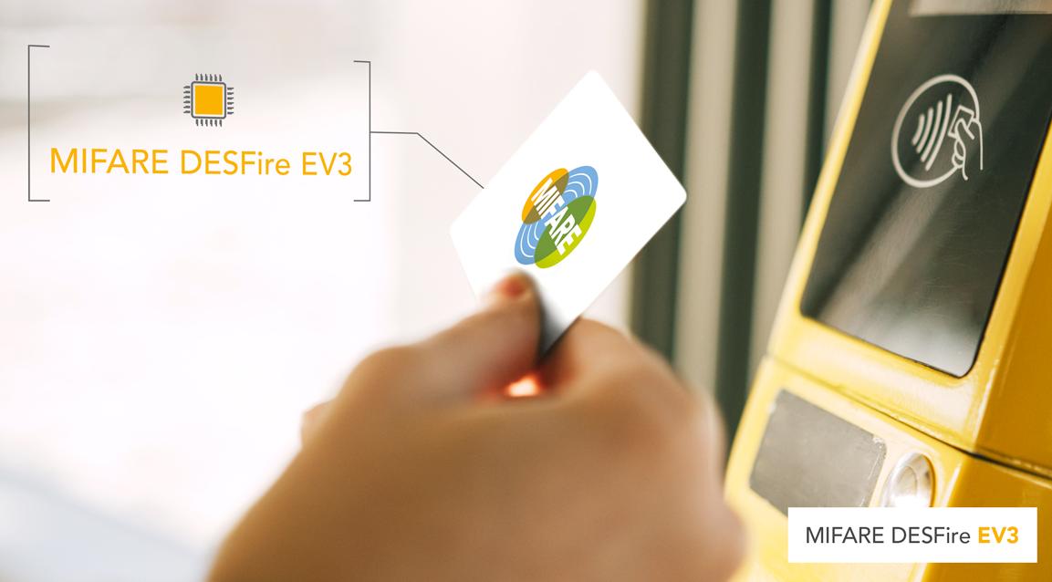 更强,更快,更安全,NXP MIFARE DESFire EV3 IC问市