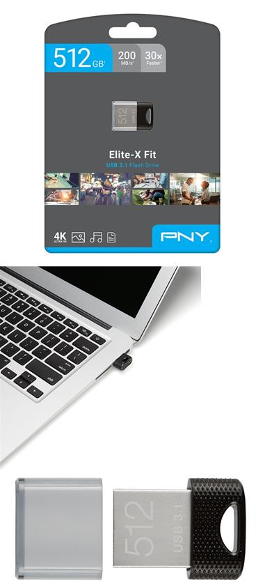 小尺寸大功能高速度,PNY发布迷你USB 3.1优盘