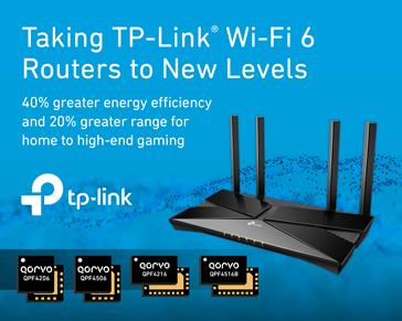 Qorvo全新Wi-Fi 6前端模块将TP-Link路由器性能提升至全新水准
