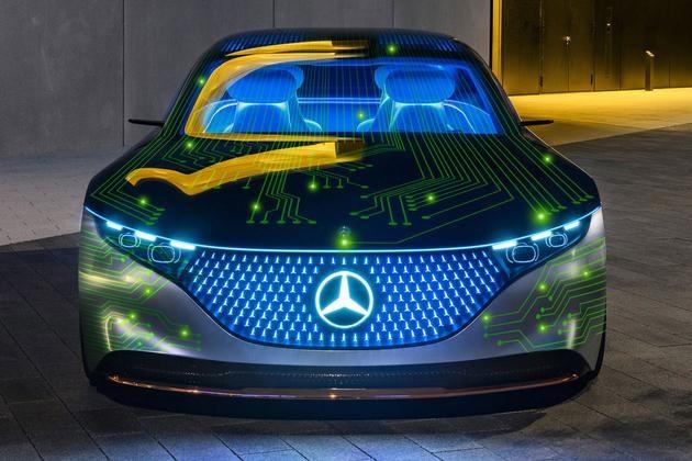 奔驰、英伟达强强联手,打造全新自动驾驶汽车