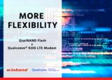 华邦全新QspiNAND Flash赋能<font color='red'>NB</font>-<font color='red'>IoT</font>