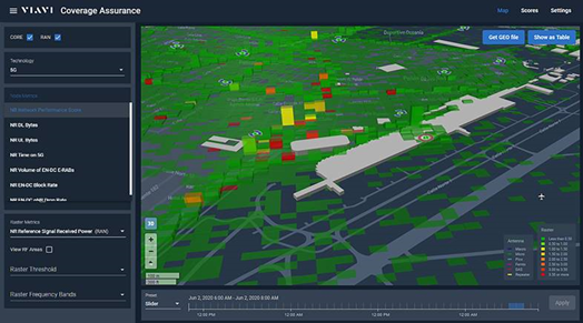 VIAVI全新3D地理定位解决方案可提供更全面的可见性