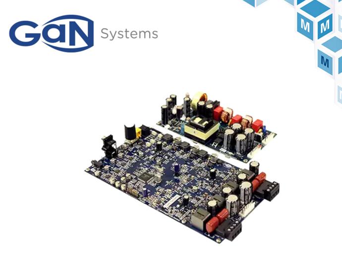 GaN Systems音頻評估板貿澤開售