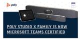 <font color='red'>Poly</font> Studio X将为您带来安全卓越的视频会议体验