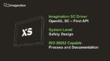<font color='red'>Imagination</font>全新汽车XS图形GPU芯片问市,工作负载性能翻倍