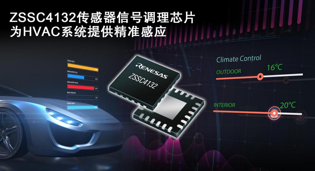 瑞薩高精度汽車壓力傳感器解決方案可進一步降低BOM成本