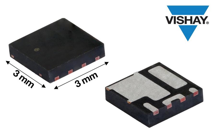 提升功率密度和效率,Vishay新款30 V MOSFET半橋功率級模塊問市