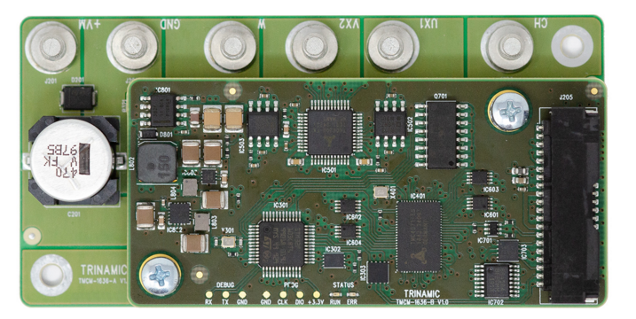 Trinamic伺服驅動器TMCM-1636—三相BLDC和DC電機的理想平臺