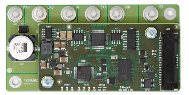 Trinamic伺服驱动器TMCM-1636—三相BLDC和DC电机的理想平台