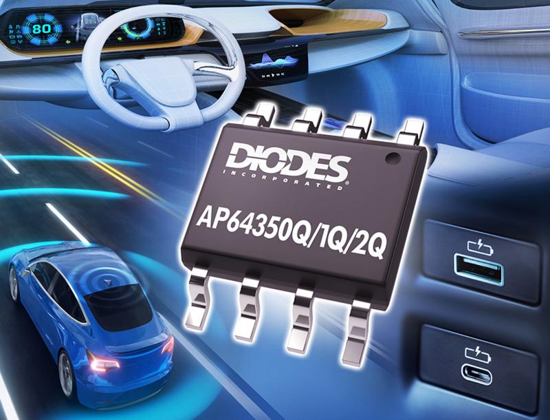 Diodes 全新3.5A 同步降压转换器可有效降低高频辐射 EMI 噪声