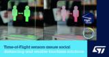 ST FlightSense ToF<font color='red'>传感器</font>,让人们在安全距离进行社交