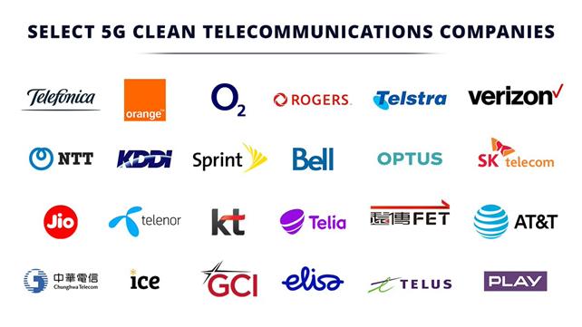 """美国把禁用华为的设备商列为""""5G干净网络"""""""