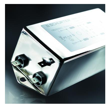SCHURTER新一代超紧凑型滤波器,具有卓越宽带衰减性能