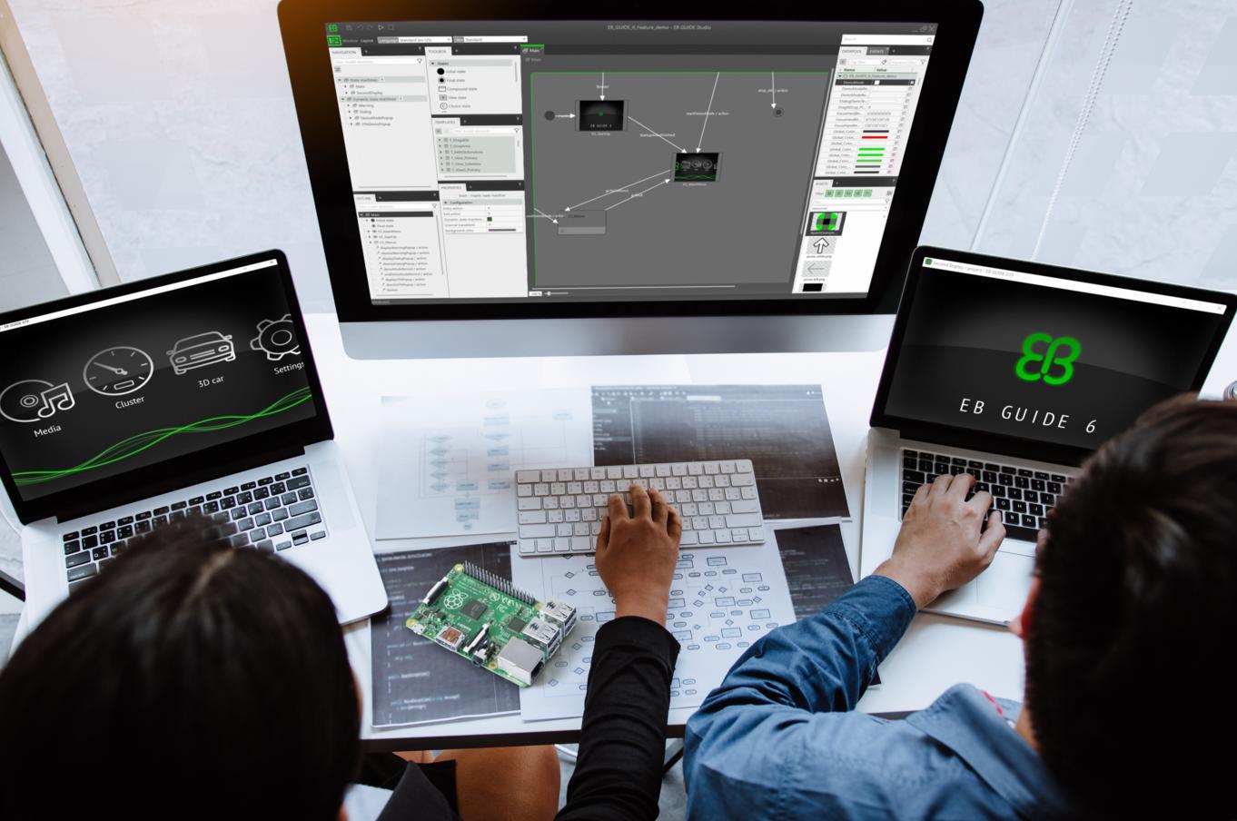 Elektrobit  EB GUIDE加速 Pioneer最新显示音频系统开发