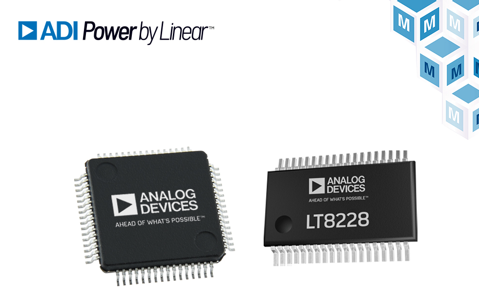 ADI升降压控制器为汽车、工业提供简单可靠的电源解决方案