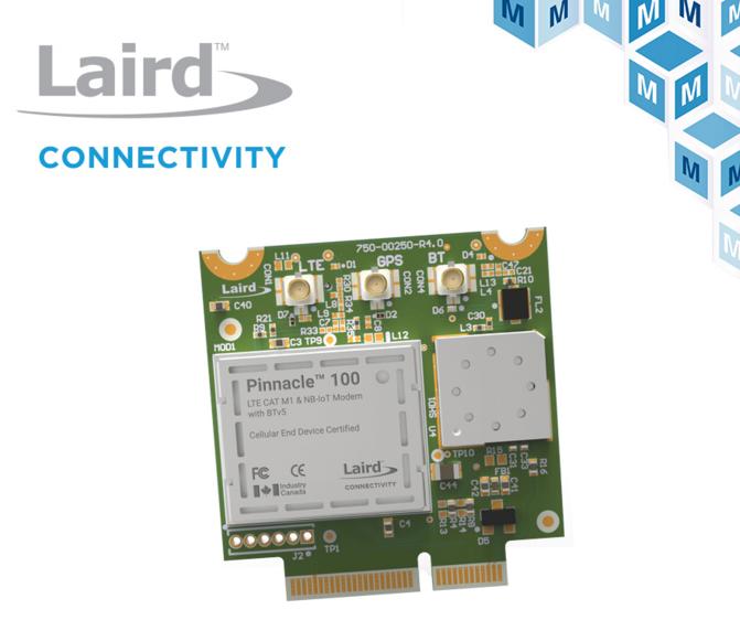 Laird Connectivity 调制解调器 将蓝牙5与蜂窝IoT应用完美结合