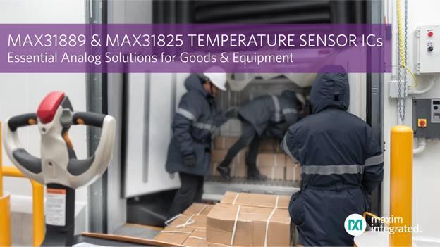 Maxim全新温度传感器基础模拟IC,大大降低线路连接复杂度