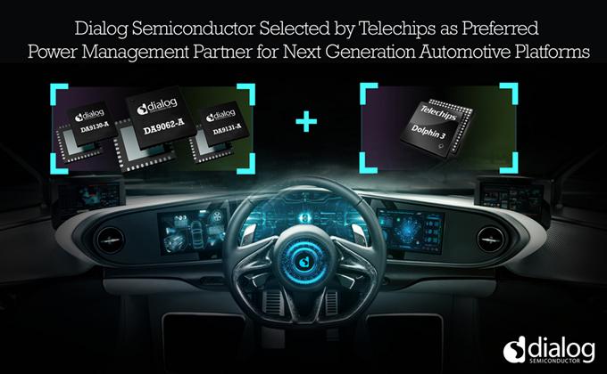 Dialog联合Telechips,打造更完美的下一代汽车平台