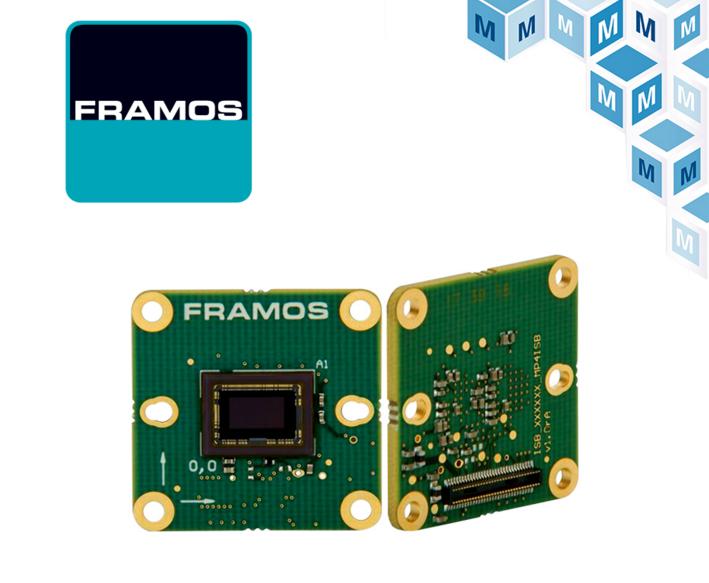 贸泽与嵌入式视觉供应商FRAMOS签订全球分销协议