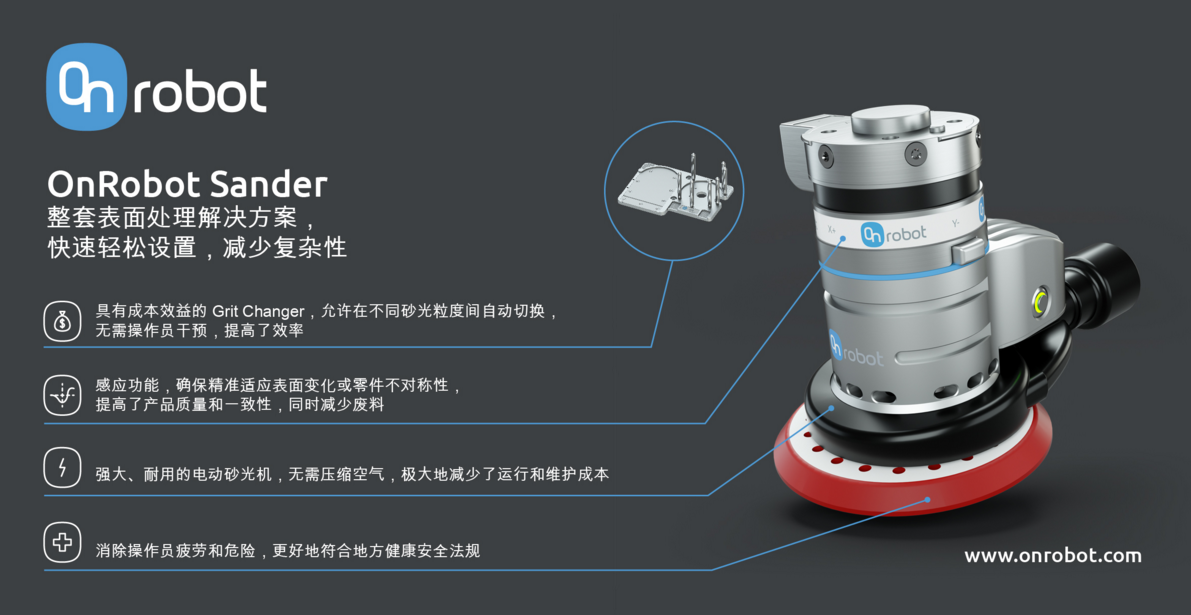 OnRobot一站式协作应用产品和解决方案亮相2020工博会