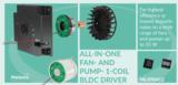 <font color='red'>Melexis</font> 35 W低噪声单线圈风扇和泵驱动器,兼具经济高效