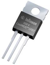 英飞凌650 V CoolMOS™ CFD7兼具更高效率,更高<font color='red'>功率密度</font>