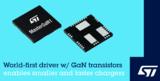 开创更小、更快充电器电源时代,ST驱动与<font color='red'>GaN</font>集成产品问市